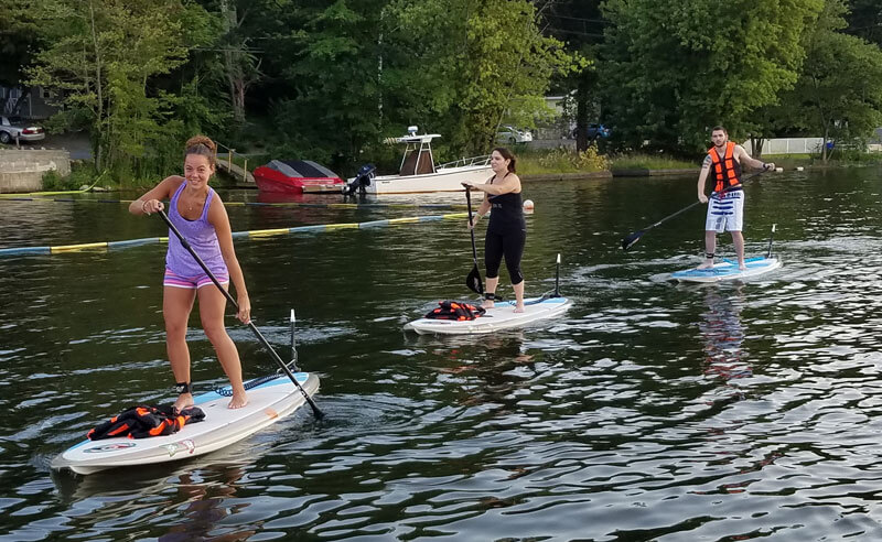 SUP & SUP Yoga Lessons