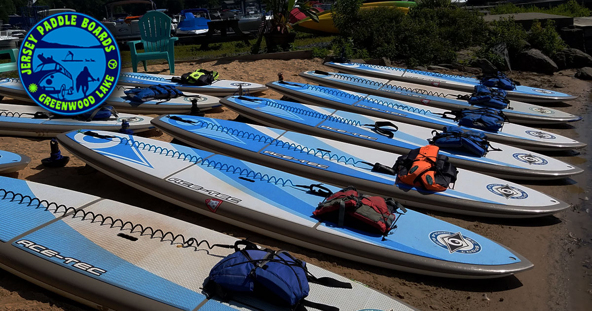 SUP & Kayak Rental Locations - Jersey Paddle Boards
