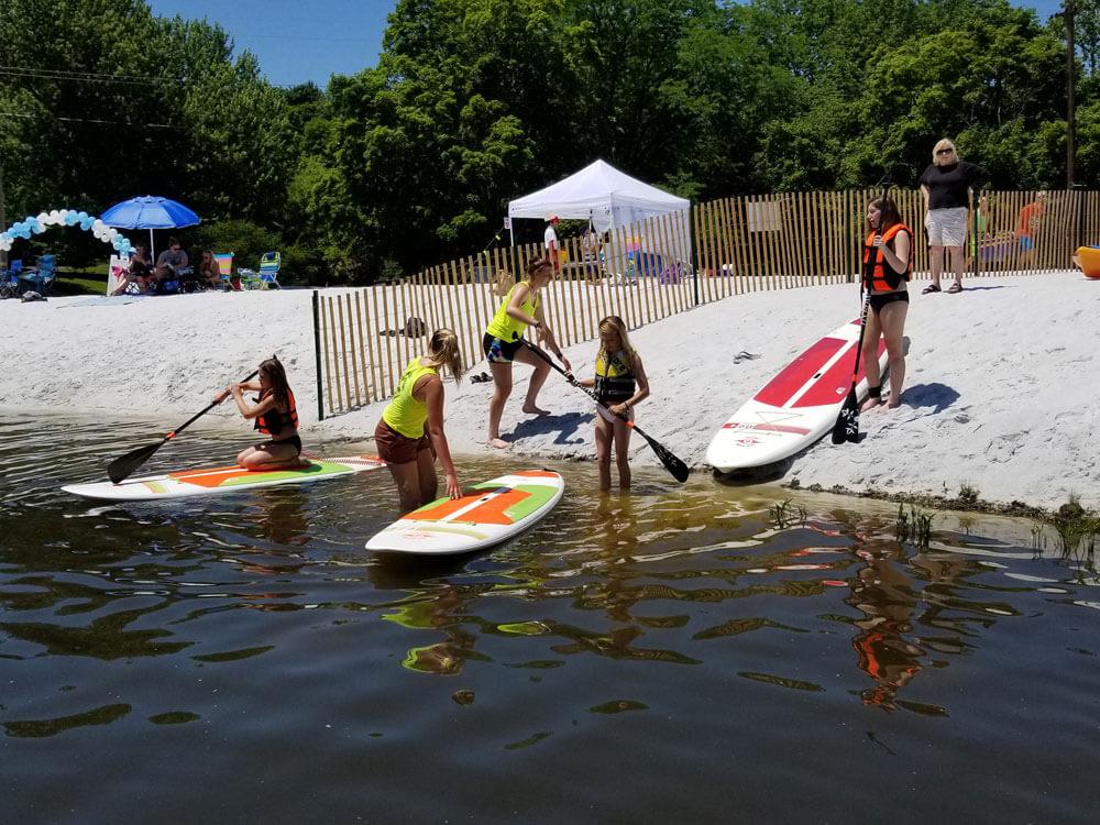 SUP & Kayak Rentals on Franklin Pond - Jersey Paddle Boards