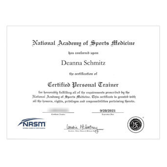 NASM CPT