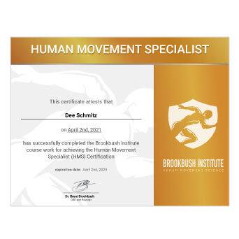 Human Movement Specialist