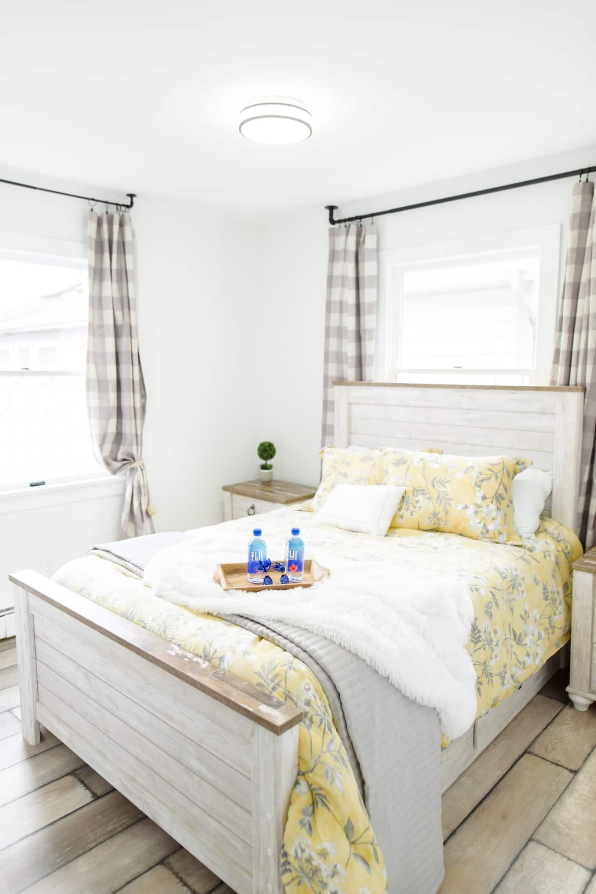 Bedroom at Latitude Lake House