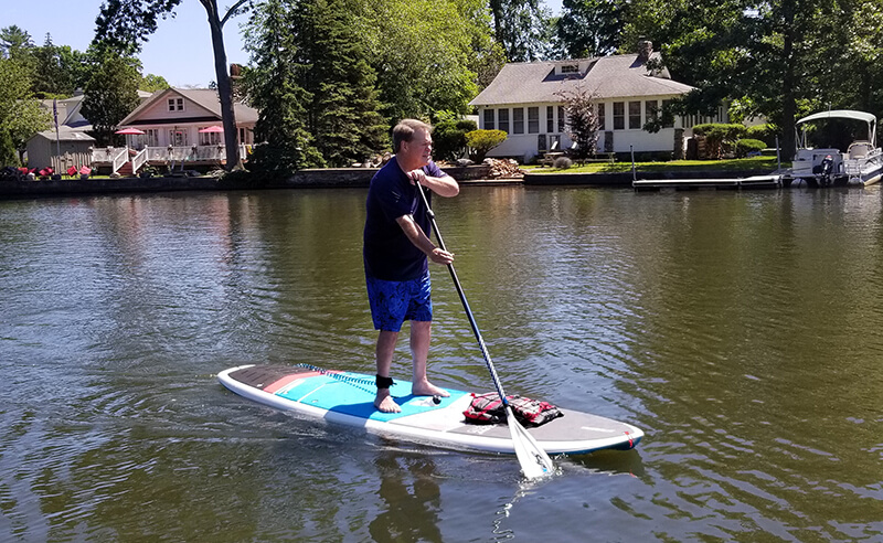 SUP rentals at Jersey Paddle Boards on Greenwood Lake